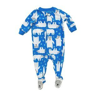 Carter's Fleece Polar Bear PJ's
